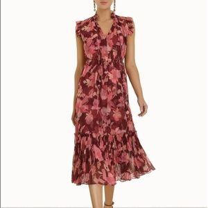 Zimmermann Concert Flutter Silk Dress